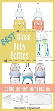 Best Glass Baby Bottles for Breastfed Babies – Top Picks for New Moms When choosing baby bottles for breastfed babies, you have options. If you want the best glass baby bottles for your baby, here are some top choices. Best Baby Bottles, Glass Baby Bottles, Bottles For Breastfed Babies, Breastfeeding Accessories, Trendy Baby Clothes, Breastfeeding And Pumping, Baby Shower, Natural Baby, Baby Care