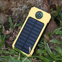 Our new product: Solar PowerBank D... To purchase click here: http://amplyfe.com/products/solar-powerbank-dual-usb-powerbank20000mah-waterproof-powerbank-bateria-external-portable-solar-panel-with-led-light-and-compass?utm_campaign=social_autopilot&utm_source=pin&utm_medium=pin