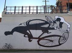 Street Art by Alex Senna in Detroit