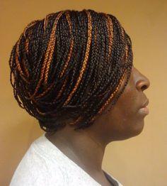 Short MicroBraid Hairstyles
