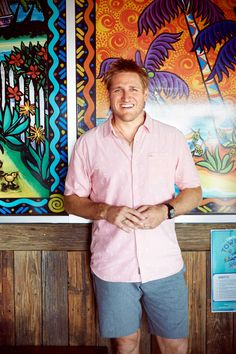 Curtis Stone, Host of Food Network's Beach Eats USA