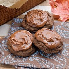 Chocolate Chunk-Mocha Cookies | MyRecipes.com - VVF Notes: think I'll add 1-3 tsp of instant expresso powder to this recipe - sounds yummy!