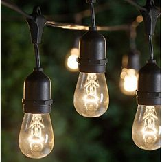 Feit Electric String Lights Custom Addlon 48Ft Outdoor String Lights Commercial Great Weathehttps 2018