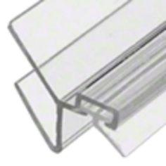 135 Degree Strike Jamb - Shower Seal. Available for 8mm Glass (P045SJ) & 10mm Glass (P135SJ)