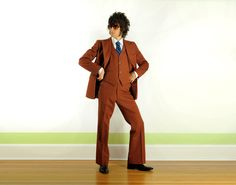 Antipholuses - Funky three-piece suit they could wear, each with their own colours.