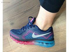 Orjinal Nike Air Max 2014 Lacivert Hemen Teslim Bayan Spor