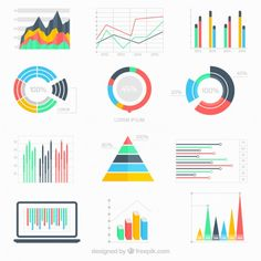 Business data infographic Free Vector