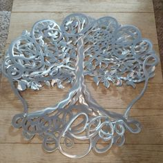 personalized tree of life metal large wall art décor for outdoors, wedding anniversary gift, engagement present – Farmhouse Decor Outdoor Metal Tree Wall Art, Metal Artwork, Large Wall Art, Tree Wall Decor, Wall Art Decor, Room Decor, Custom Business Signs, Tree Artwork, Custom Art