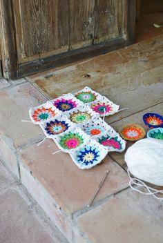 some costa-de-la-luz crochet by wood & wool stool, via Flickr