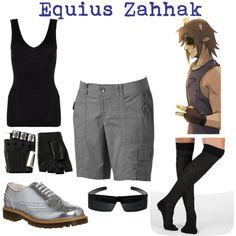 Eguius Zahhak by jake-fancypants-english on Polyvore featuring polyvore fashion style Hanro Sonoma life + style Chinese Laundry Office Majesty Black