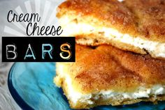 These yummy Cream Cheese Bars are to die for and so easy to make.