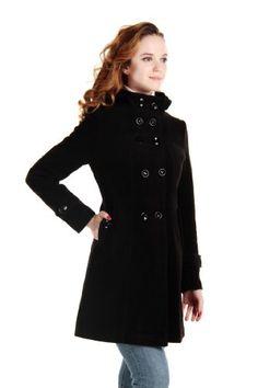 LANHUACAO Women Wool Blends Coat Trench Hooded Coat Long Jacket Outwear Overcoat (Small, Black) CHAREX,http://www.amazon.com/dp/B00C585XH0/ref=cm_sw_r_pi_dp_qAfHsb0FN601EF0B