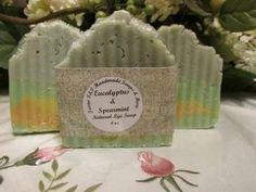 Handmade in Bryan, Texas. Antibacterial Eucalyptus Oil clears the mind while…