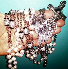 Lasso rosary .. for orders mimiandlola@gmail.com