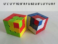 Patrones Cubo RUBIK 3x3 Figura N.1 Por WL Rubik 3x3