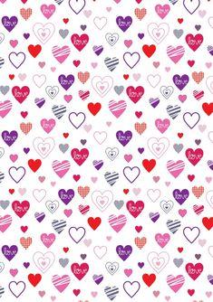 Porta cubiertos para el Día de San Valentín