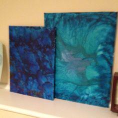 My oil paintings. :)