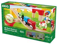 Circuito tren juguete infantil de madera. Brio 33710, IndalChess.com Tienda de juguetes online y juegos de jardin