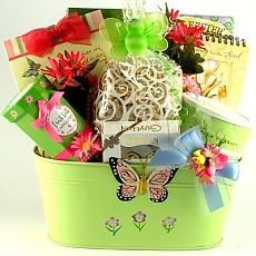 Sugar free easter gift basket gift basket ideas pinterest sugar free easter gift basket butterflies and blooms easter gift basket this delightful spring planter is wonderful to use for negle Gallery
