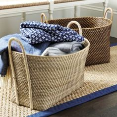 Piper Woven Basket with Handles