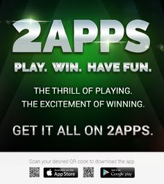 The thrill and the excitement of playing and winning casino games is now at your fingertips. Download 2apps now!  #apps #appdev #gaming #appmarketing