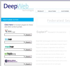 10 search Engines to Explore the Invisible Web  - this article is pure gold!