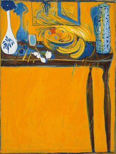 유 Still Life Brushstrokes 유 Nature Morte Painting by Brett Whiteley Painting Still Life, Still Life Art, Modern Art, Contemporary Art, Contemporary Australian Artists, Australian Painters, Mellow Yellow, Anime Comics, Art Auction