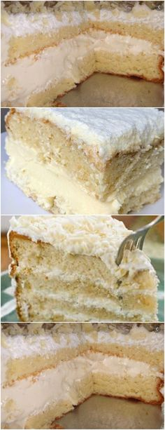 Other Recipes, Vanilla Cake, Cake Recipes, Pasta, Favorite Recipes, Sweets, Desserts, Creme, Cheesecake
