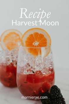 The Harvest Moon Mocktail is a easy drink recipe made with only blackberries, simple syrup, grapefruit and club soda. Serve in a wine glass and garnish with a grapefruit for a fun party drink. Best Mocktail Recipe, Easy Mocktail Recipes, Drinks Alcohol Recipes, Cocktail Recipes, Smoothie Recipes, Smoothies, Cocktail And Mocktail, Non Alcoholic Cocktails, Fun Cocktails