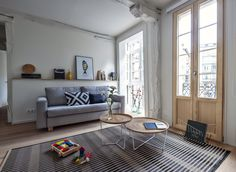 That Continental feeling. Six urban picks for Europe on a whim. Browse our collection of boutique home rentals in Europe Bilbao, Vacation Homes For Rent, Vacation Home Rentals, Bohemian Interior, Scandinavian Interior, Cosy Kitchen, Boutique Homes, Apartment Design, Living Room Interior