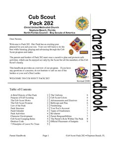 Cub Scout Pack 282.doc Download legal documents