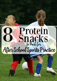 8 Protein Snacks to Pack for After School Sports Practice School Sports, Kids Sports, Healthy Snaks, Making The Team, Good Foods To Eat, Protein Snacks, School Snacks, After School, Get In Shape