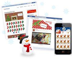 Adventkalender für Webseiten und Facebook  http://xmaslife.echonet.at/de/xmaslife