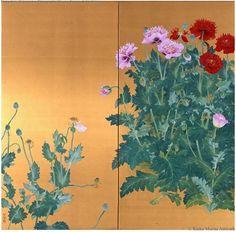 Spring Poppy by Morita Rieko.