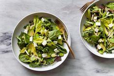 Summer Salad Series: Green Salad With Favas And Feta From Nicole Of La Buena Vida   Free People Blog