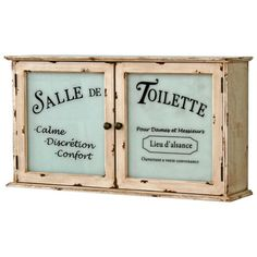 Vintage Boulevard 65 x 35 cm Wall Mounted Cabinet & Reviews | Wayfair UK