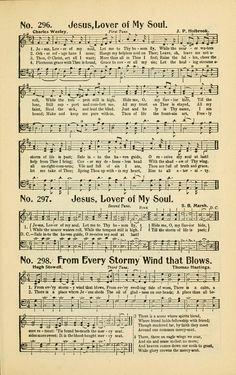 Jesus, Lover of My Soul - Hymnary.org