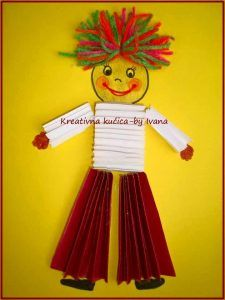 simple kids crafts, paper folding (1)