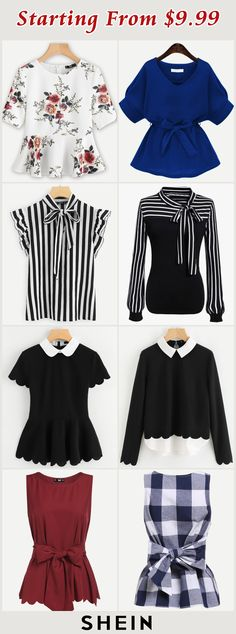 I like the middle 4 looks (black/white) not the other 4 on this page Business Casual Outfits, Chic Outfits, Spring Outfits, Fashion Outfits, Womens Fashion, Work Fashion, Modest Fashion, Moda Casual, Looks Black