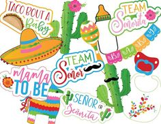 ***THIS IS AN INSTANT DOWNLOAD. YOUR ITEM WILL BE AVAILABLE TO DOWNLOAD AS SOON AS YOUR PAYMENT CLEARS (USUALLY WITHIN MINUTES.) NO PHYSICAL ITEM WILL BE MAILED TO YOU. Perfect for the last minute party planners! Our NEW Señor or Señorita Fiesta themed Gender Reveal Props are the perfect way to
