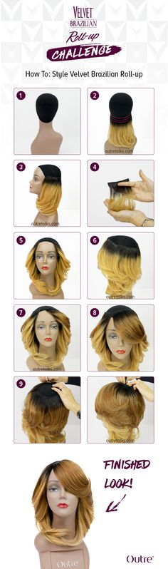 How to: Style Outre's Velvet Brazilian Roll-Up  #Outre #VelvetBrazilianRollUp