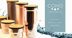 COHO: Water Enricher Jug&Mug Set | Indiegogo It's healthy to drink water. It's even healthier with COHO.