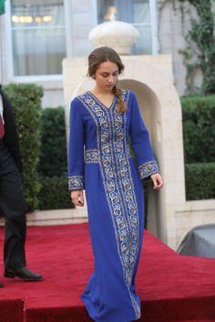 Princess Iman of Jordan during the celebrations of the Jordanian national holiday on 25.05.2014, at the Amman Raghadan Palace.