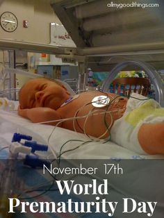 World Prematurity Day is bringing hope and awareness to the millions of babies born prematurely every year. This is my preemie baby story of hope.