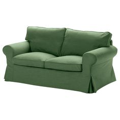 EKTORP Loveseat - Svanby green - IKEA, sadly now discontinued, one of the things that really irritates me about IKEA