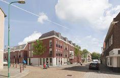 Nieuwbouw in het historische centrum van Rijswijk (Schoolstraat / Blekerslaan / Fred. Hendrijkstraat)