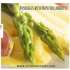 Delicious asparagus with mayo hollandaise. Coming just in time for the weekend on the blog! #keto #ketosis #ketodiet #veggies #ketolife #lchf #inspiration #inspo #paleo #primal #glutenfree #dairyfree #sugarfree #easy #meals #health #fit #energy #foodporn #fat #atkins #jerf #lchfklubben #weightloss #lowcarb #farm #farmtotable #organic #fat #brunch #breakfast #lchfklubben