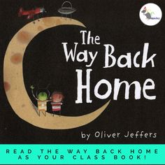 The children love 'The Way Back Home' by Oliver Jeffers. It's a story about a boy on a journey to explore space who crash lands on the moon. Moon Activities, Eyfs Activities, Activities For Boys, Space Activities, All About Me Eyfs, Transportation Science, Transport Topics, Early Years Maths, Reception Class