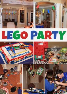 How to Host a LEGO Party good game ideas