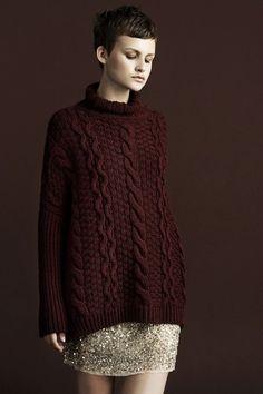 Zara Knit the look::@cocoknitsjulie pattern Nieve
